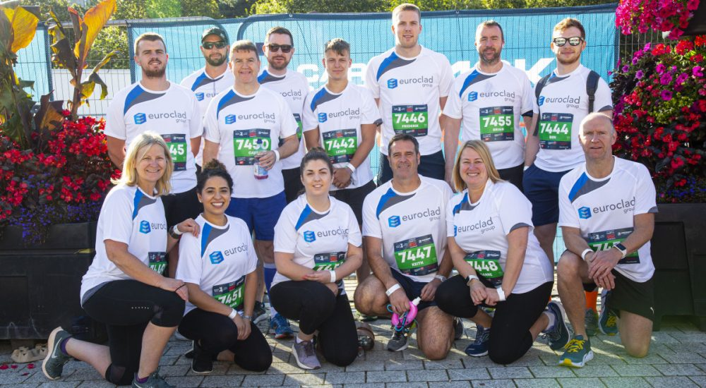 Euroclad Group return as Corporate Challenge Sponsor 2020