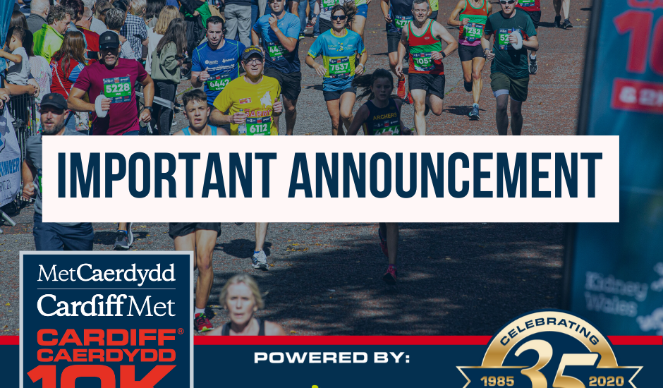 Final Reminder: Select your option following the postponement of the 2020 race