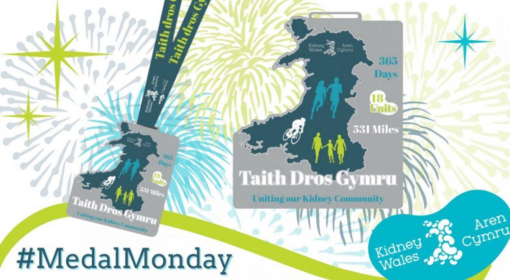 Taith Dros Gymru          Virtual Challenge.                 531 Miles, 18 units,             over 365 days