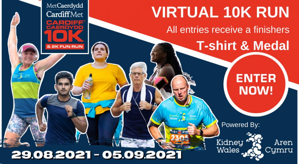 2021 Cardiff Metropolitan University Cardiff 10K – Virtual Run